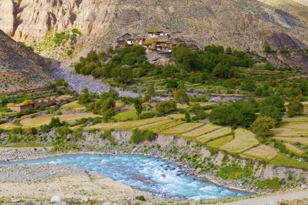 The scenery of Tibet photo