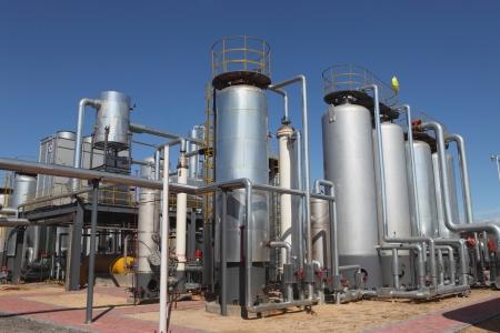 Öl und Gas Verarbeitungsanlage