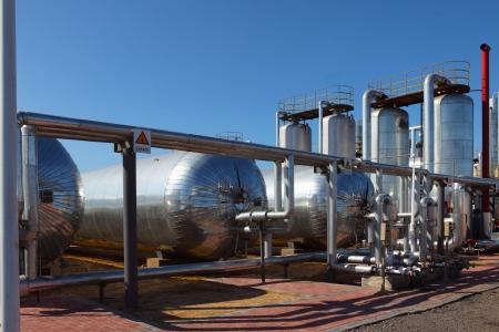 L und Gas Verarbeitungsanlage Standard-Bild - 19015532