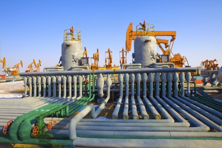 oil well: Oil pumps  Oil industry equipment