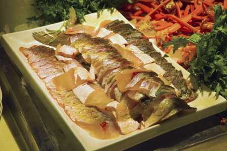 Variety of sea food photo