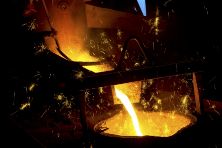 foundry: Iron and steel industry
