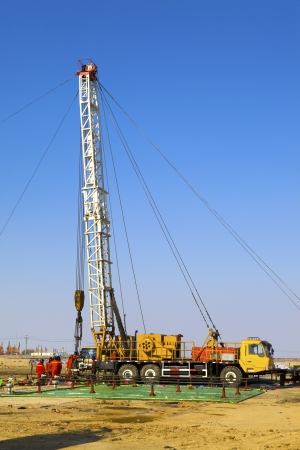 This is element of drill Derrick  Stock Photo