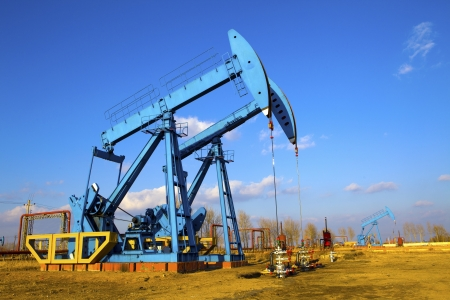drilling well: Oil pumps  Oil industry equipment