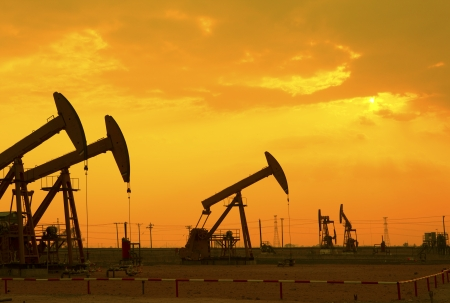 mineral oil: Oil pumps  Oil industry equipment