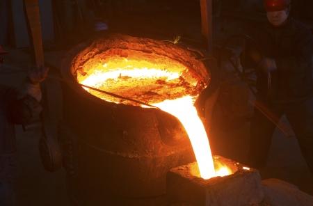 Eisen-und Stahlindustrie Standard-Bild - 22647129