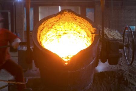Eisen-und Stahlindustrie Standard-Bild - 22647148