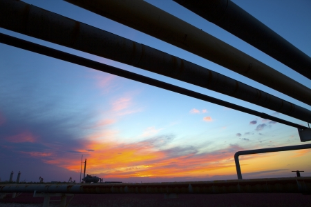 natural gas: Pipeline Stock Photo