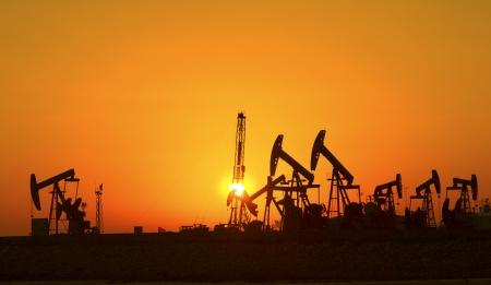 crude oil: Oil pumps  Oil industry equipment