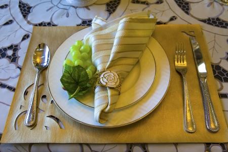Table cutlery photo