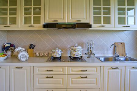 custom cabinet: Kitchen interior