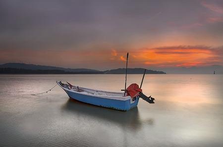 landscape mode: COAST FISHING BOATS