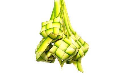 aidilfitri: traditional celebration cuisine, ketupat