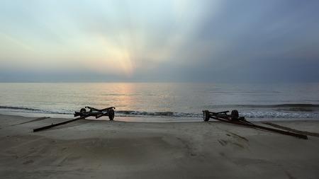 seascapes: ray at coastal fishing village