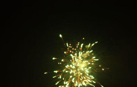 multi national: fireworks Stock Photo