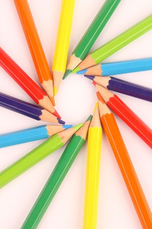 colorful pencils Stock Photo - 4483970