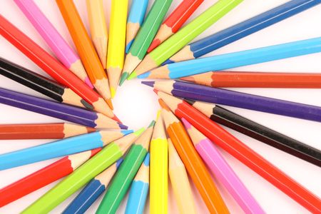 colorful pencils Stock Photo - 4483972