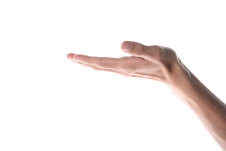 hand accepting Stock Photo - 4558322