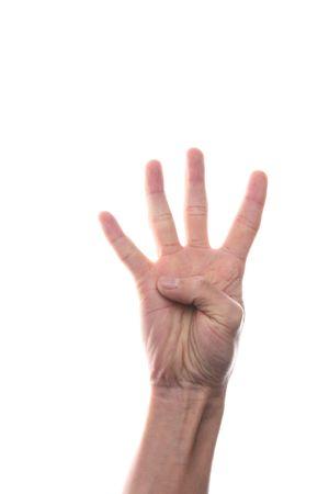 finger 4 Stock Photo - 4558317