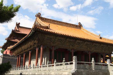 Chinese pavilion photo