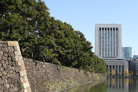 Tokyo palace wall photo