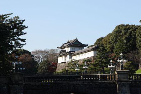 emperor park,Tokyo Stock Photo