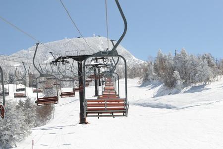 ski lift photo