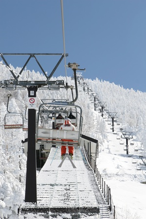 ski lift Stock Photo - 9351020