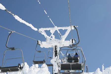 ski lift Stock Photo - 9350981