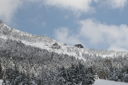 snow hut Stock Photo - 9379153