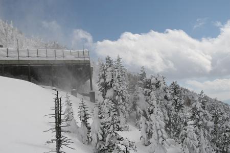 winter hut Stock Photo - 9380329