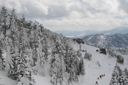 winter hut Stock Photo - 9380332