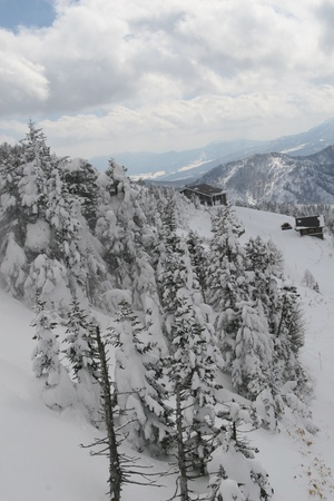 winter hut Stock Photo - 9380330