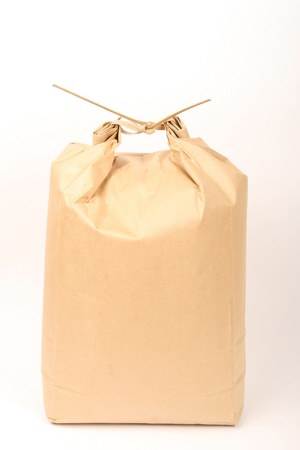 rice paper bag Stock Photo