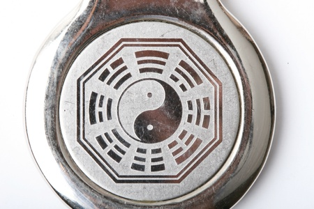 yinyang: Daoism symble Stock Photo