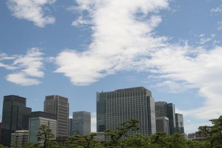 Tokyo modern building photo