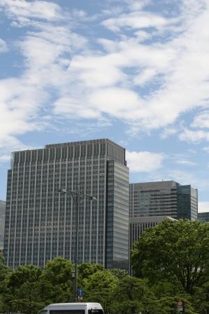 Tokyo modern building Stock Photo - 14118175