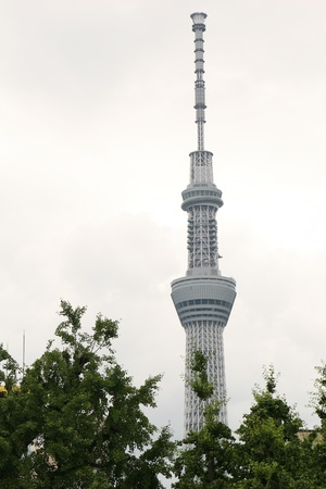 sky tree in Tokyo Japan