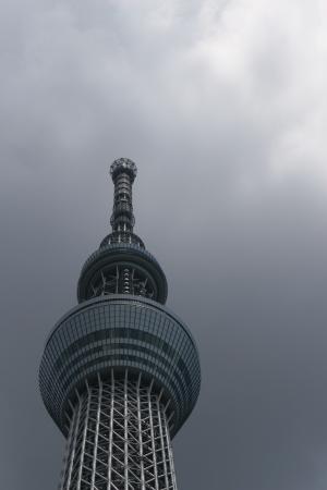 sky tree in Tokyo Japan Stock Photo - 14300268
