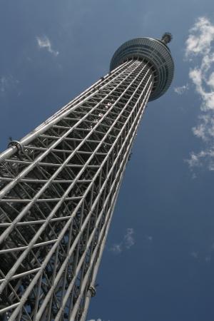sky tree in Tokyo Japan Stock Photo - 14318465
