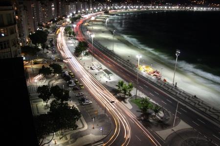 Rio de Janeiro - CapaCabana by night