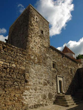 Ancient Armenian church in Crimea                                Stock Photo - 3765631