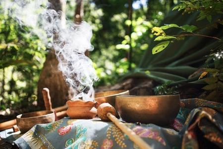 ritual: Mexican or Indian Sauna Hut - Stock image