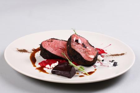 맛있는 송아지 고기 필레 스톡 콘텐츠 - 91367732