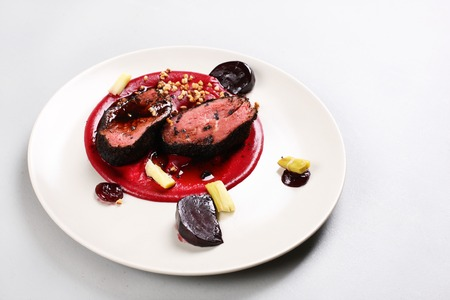 Delicious veal fillet