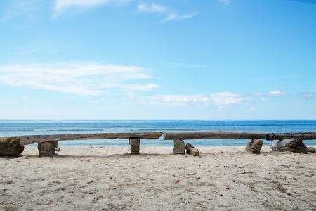 발리, 인도네시아에서 이국적인 황량한 해변입니다. 재고 이미지입니다. 스톡 콘텐츠 - 91382168