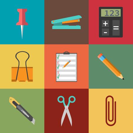 calculator: Modern flat icon vector illustration collection.