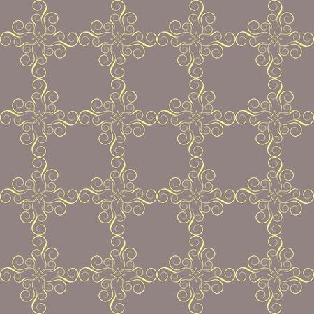 Nahtlose abstraktes Muster. Eleganten viktorianischen Textur in Dama. Vektor-Illustration. Kann für Tapeten, Textilien, Packpapier, Seite füllen, Design, Web-Seite, Hintergrund verwendet werden.
