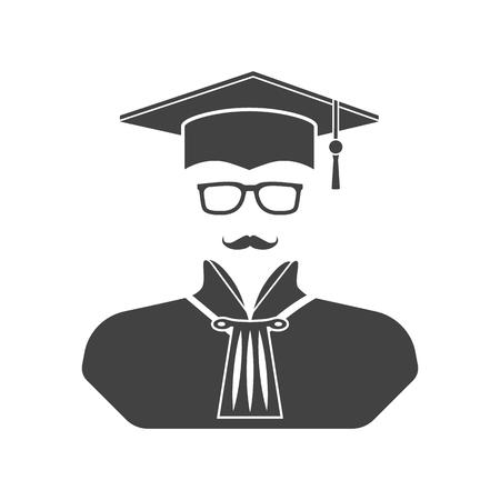 femida: Judge icon vector illustration