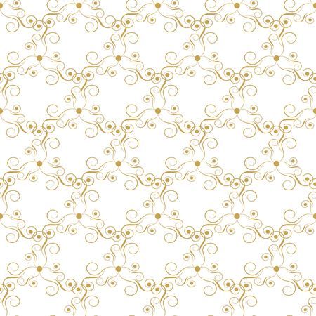 tileable: Seamless abstract pattern. Elegant ornate texture in damask style. Vector illustration. Can be used for wallpaper, textiles, wrapping paper, page fill, design, web page, background.